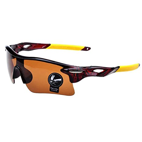 Gafas de Sol UV 400 deportivas Ciclismo Polimero de Carbono MTB Bicicleta + Estuche 4077am