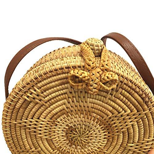 20180809003 Estrella Y Santimon Diseño Rectangle marrón De Multicolor Mar Playa Tela Bolsa 7TqwW1TB6