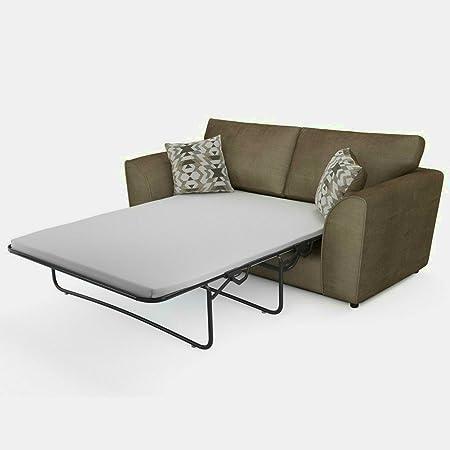 Amazon.de: Klein Doppelbett Sofa 2-Sitzer Set 2seater grau ...