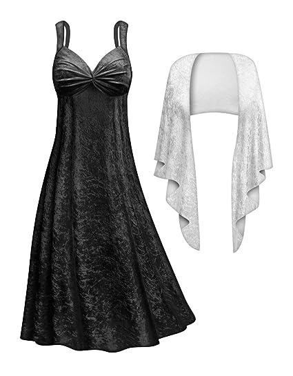 Sanctuarie Designs Cruella 2 Piece Dress Plus Size Halloween Costume