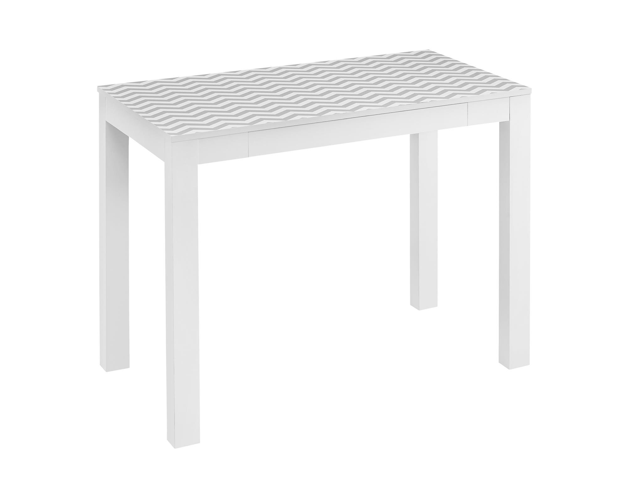 Ameriwood Home Parsons Desk Drawer, White/Gray Chevron by Ameriwood Home (Image #1)