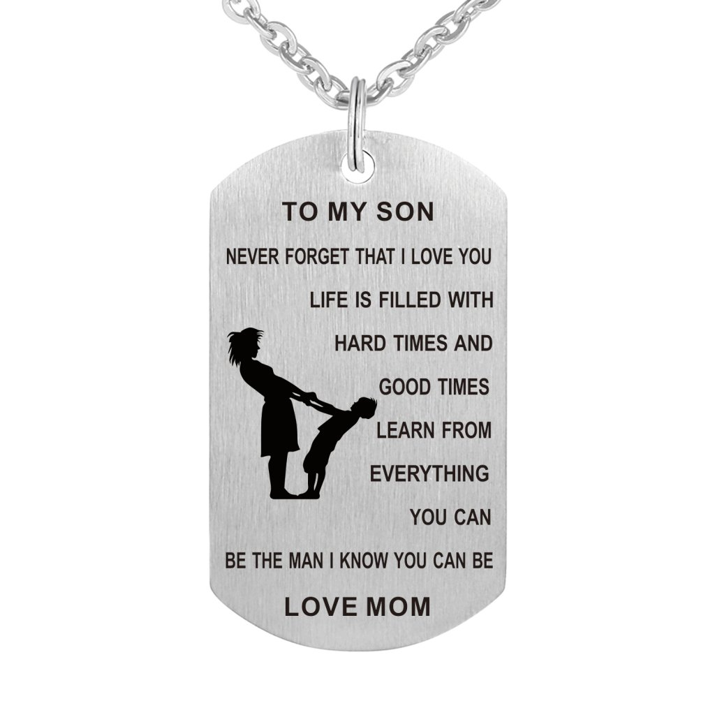 stainless tag shop steel partyspot dog necklace military adult occasions
