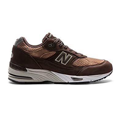 New Balance Sneaker M991 DBT Dark Brown with Tan Taglia 40,5 - Colore  Marrone 27e7984ccd15