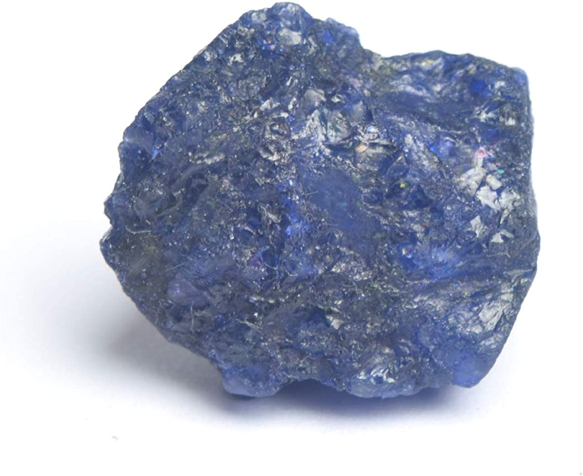 2 Ct NATURAL BEAUTIFUL UNCUT KASHMIRI BLUE SAPPHIRE ROUGH GEMSTONE S