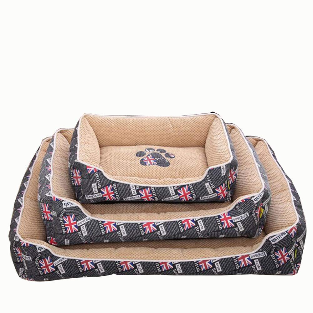 bluee Medium bluee Medium The Dog's Bed, Four Seasons General Dog Bed for Small Medium and Large Dogs,Used Ultra Soft Breathable Material for Pet Dog Cat Sleeping, Rest,bluee,M