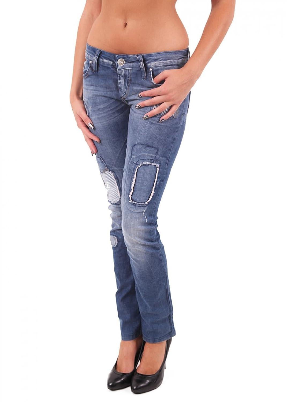 """&AMP, Cipo Baxx Women's Jeans """"CBW - 0350 blue"""