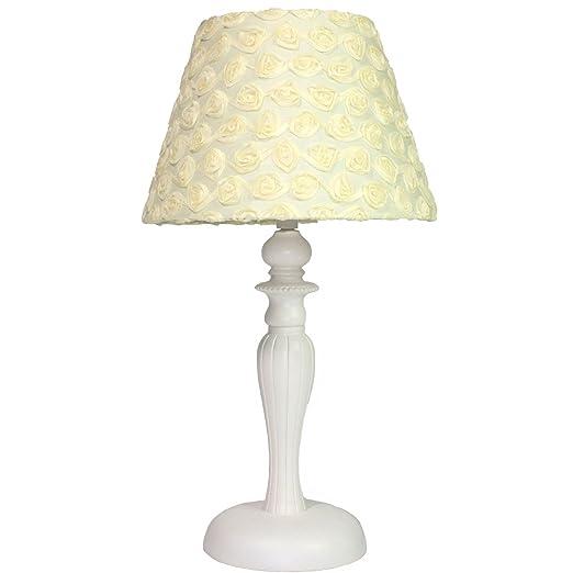 Amazon.com: Rosas amarillas Nursery lámpara: Baby