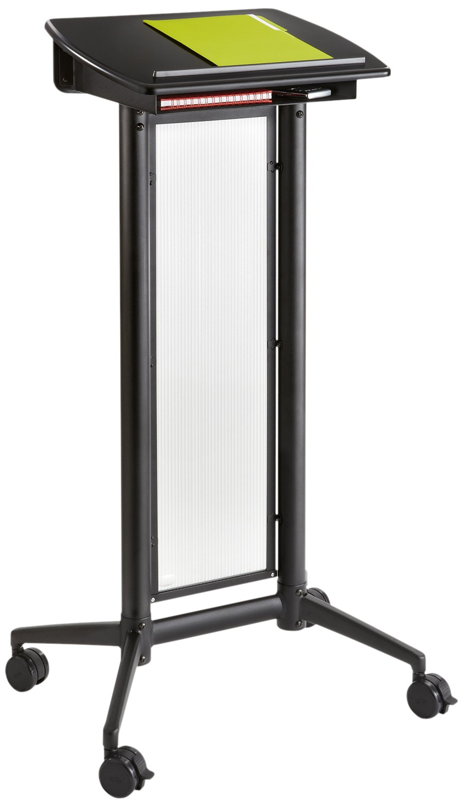 Safco Products 8912BL Impromptu Lectern, Black by Safco Products