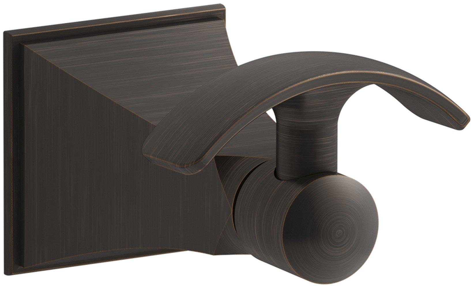 Kohler K-492-2BZ Memoirs Single Robe Hook, Oil-Rubbed Bronze