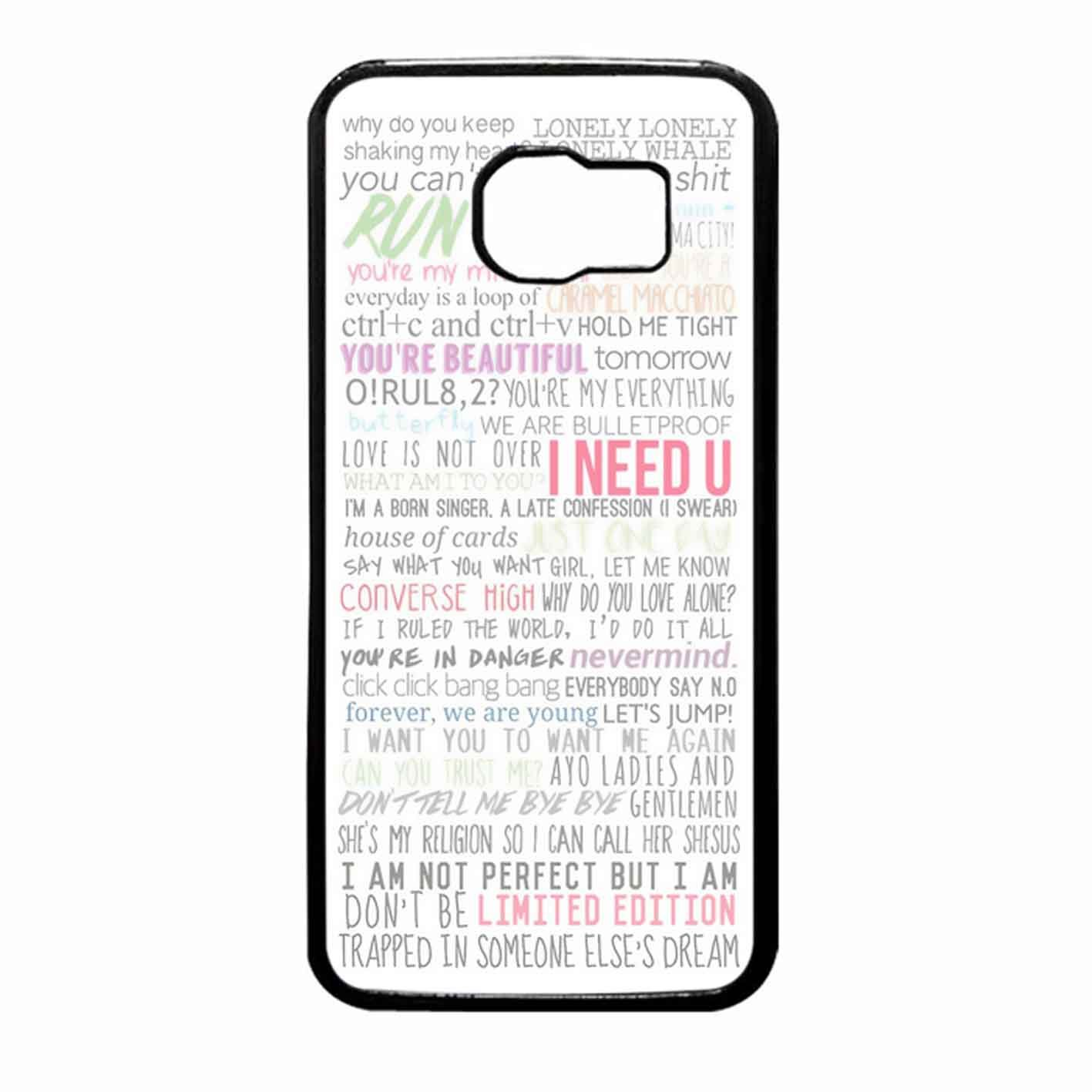 Bts lyrics case samsung galaxy note 4 8944577519690 amazon bts lyrics case samsung galaxy note 4 8944577519690 amazon books nvjuhfo Image collections