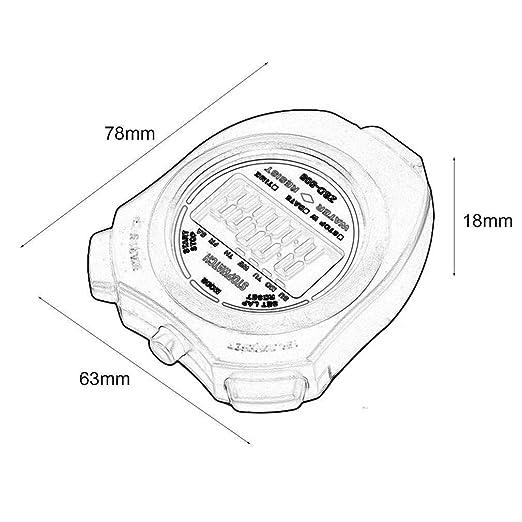 Amazon Com Bt Stopwatch Handheld Digital Lcd Sports Stopwatch