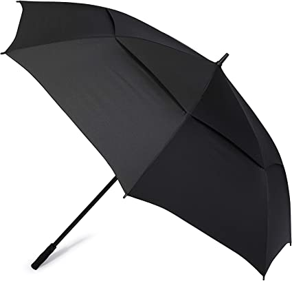 G4free 72 Inch Huge Large Oversize Golf Umbrella Automatic Open Double Canopy Vented Windproof Stick Umbrellas 6 Ft Heavy Duty Outdoor Doorman Umbrella Family Umbrella Sports Outdoors