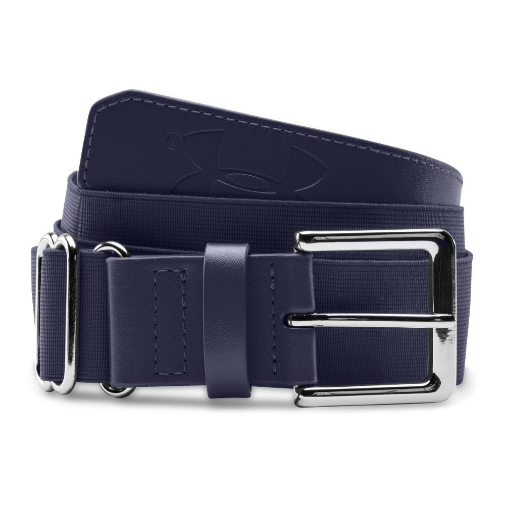 Under Armour Boys' Baseball Belt, Midnight Navy/Midnight Navy, One Size