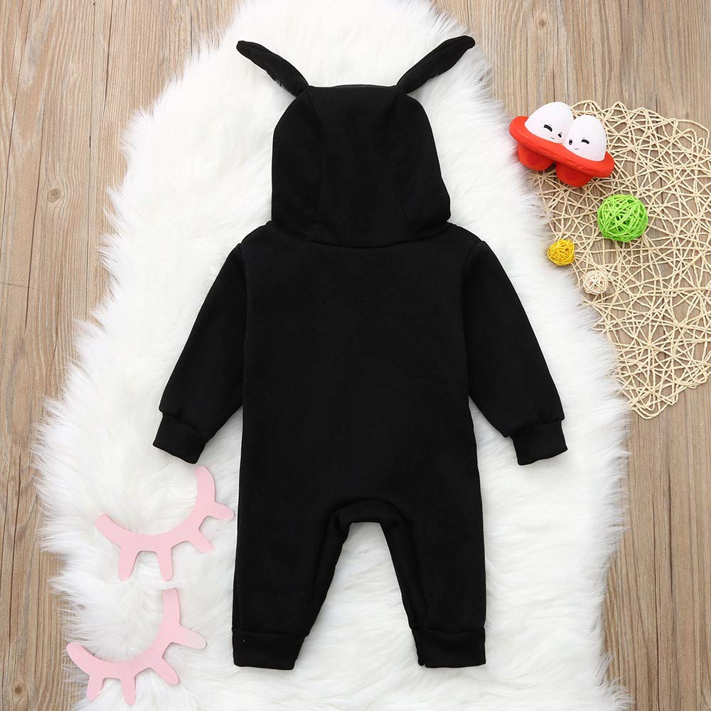 WOCACHI Toddler Baby Boys Clothes, Toddler Kids Baby Letter Boys Girls Hoodie Outfits Clothes Romper Jumpsuit 2019 Spring Summer Under 5 Deals Allowance Campaign by WOCACHI (Image #5)