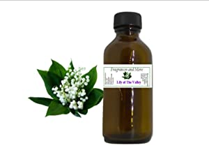 Lily of The Valley Fragrance Oil | For Soap Making| Candle Making| For Use with Diffusers| Add to Bath & Body Products| Home and Office Scents| 2 oz amber glass bottle