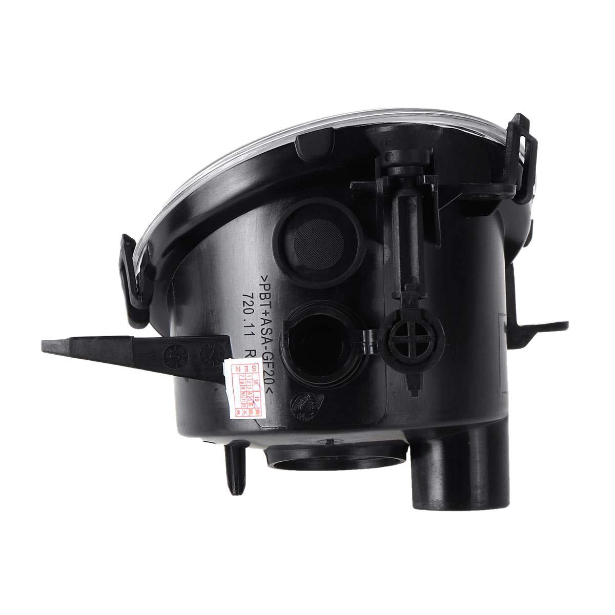 TOOGOO Couvercle de Lampe Antibrouillard Antibrouillard Avant pour Embarquement sans Ampoule pour la S/éRie 3 F22 F23 F30 F31 F32 F33 F34 F35 F36 2012 2013 2014 2015 Droite