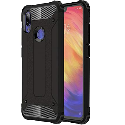 72f8494bdef6e3 Norby Carbon Fiber Armor Guard Solid Shockproof Back: Amazon.in: Electronics