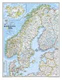 Scandinavia Classic, tubed Wall Maps Countries & Regions: NG.P622072 (Reference - Countries & Regions)