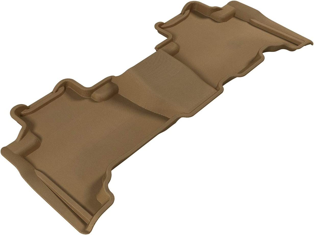 Kagu Rubber Tan 3D MAXpider Front Row Custom Fit All-Weather Floor Mat for Select Lexus RX350//330 Models