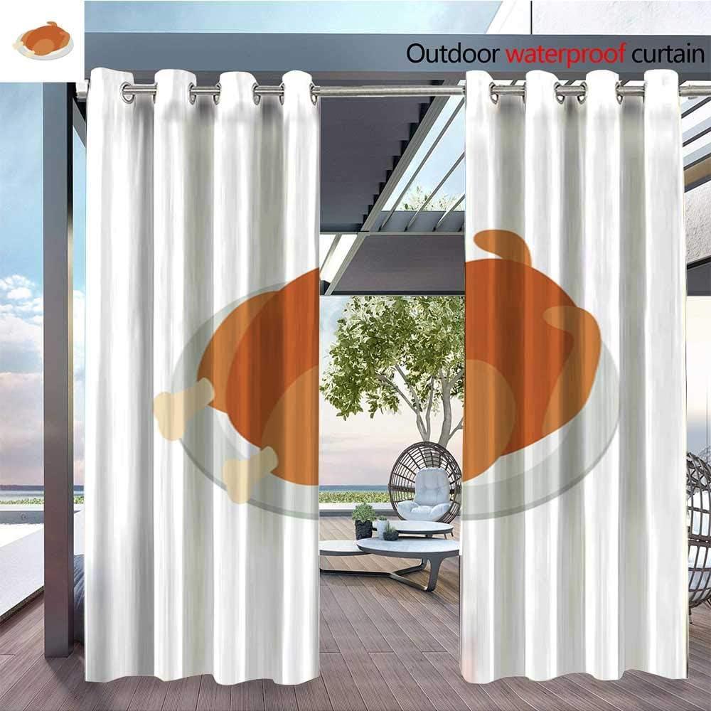 QianHe - Cortina de privacidad para Exteriores para pérgola frita, Pollo, Tortuga y Otras Piezas. JPG aislada térmicamente Repelente al Agua para balcón: Amazon.es: Jardín