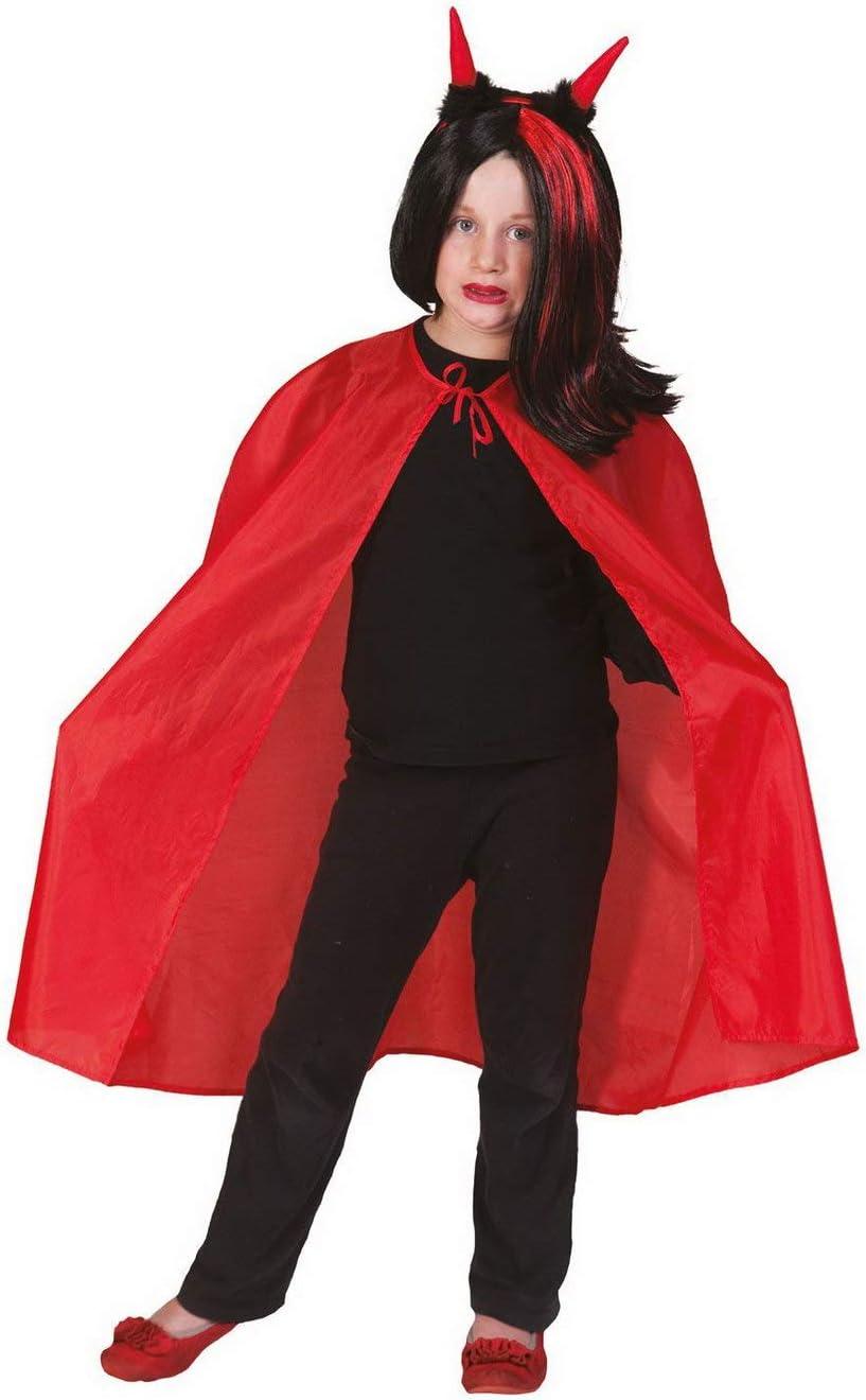karnevals Bud – Niña Infantil Disfraz de Diablo Vampiro Drácula ...
