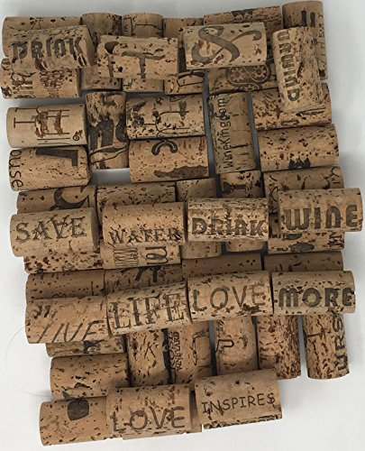 Crafting Wine Corks Brand New, All Natural & Same Size With Printed Marked, Craft Grade Meant for Arts, Crafts, Decor. No Agglomerated or Synthetic. Not For Bottling. (250) by Pro-Grade (Image #2)
