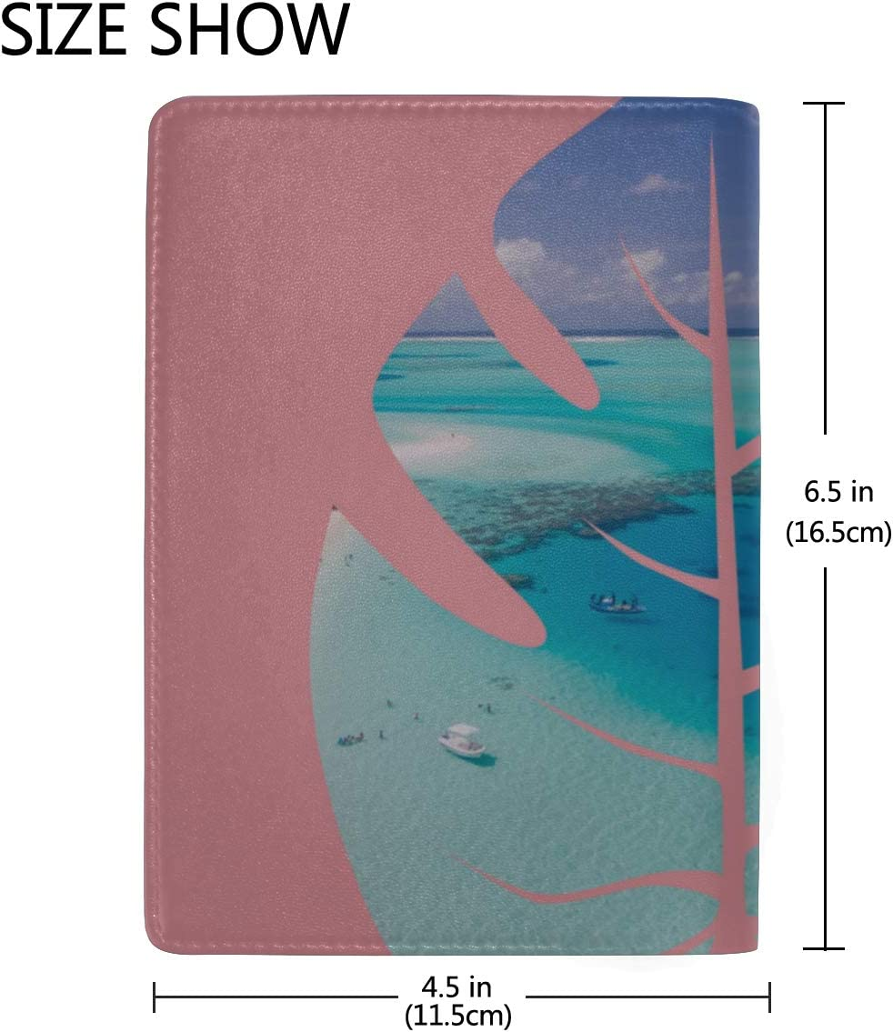 Passport Covers For Women Amazing Panorama Of Sunset Stylish Pu Leather Travel Accessories Passport Cover Case For Women Men