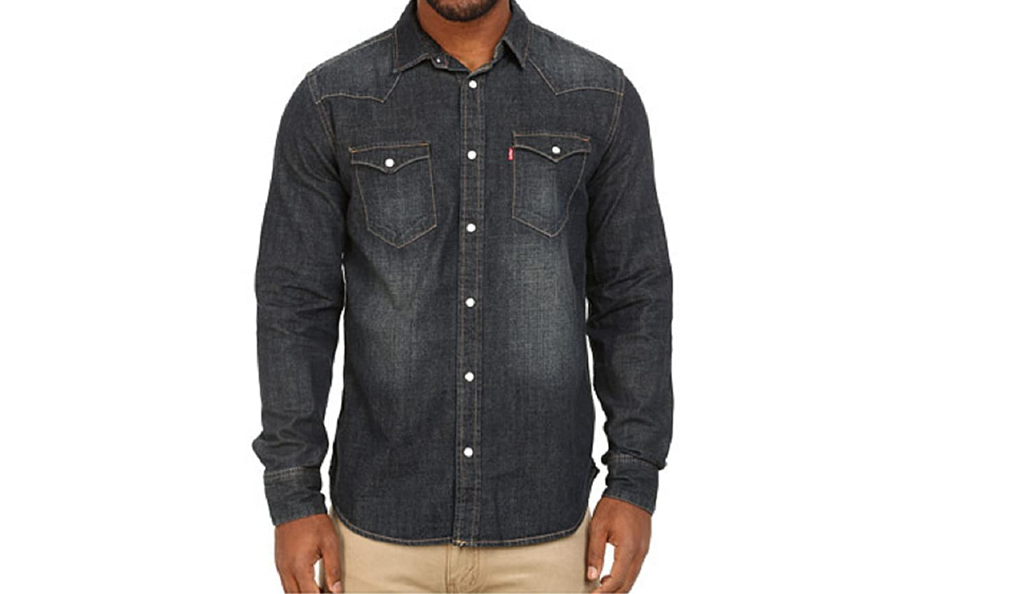 07faa7eb2e Levi s® Barstow Denim Snap - New Age Bleach at Amazon Men s Clothing store