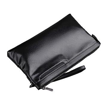 ed1e6b61d62d9 SHAN Leder Herrenhandtasche Leder Umschlag Tasche Weiches Leder Casual  Clutch Koreanische Version des Trends Der Herren