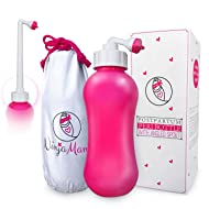 Peri Bottle for Soothing Postpartum Care. Post Partum 15oz Portable Perineal Bottle with Angled Spout - for Pain Treatment After Childbirth - Labor & Delivery Hospital Bag. Shower Gift.