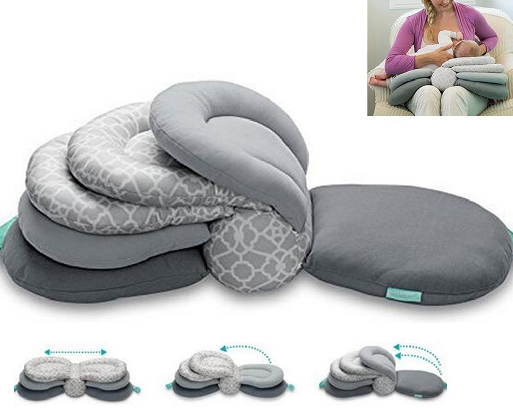 Multi-Function Breastfeeding Pillow Maternity Nursing Pillow,Adjustable Height by JCW