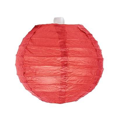 10 pcs Lanterne Papier Rouge 10cm Lampion Decoration Chinoise pour Decoration Chinoise on