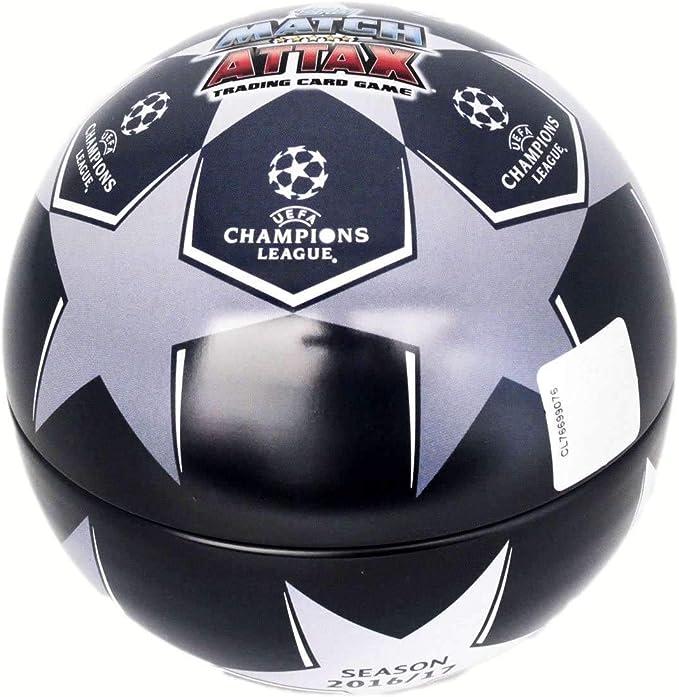 Topps Lata Pelota 70 cartas Champions Le: Amazon.es: Juguetes y juegos