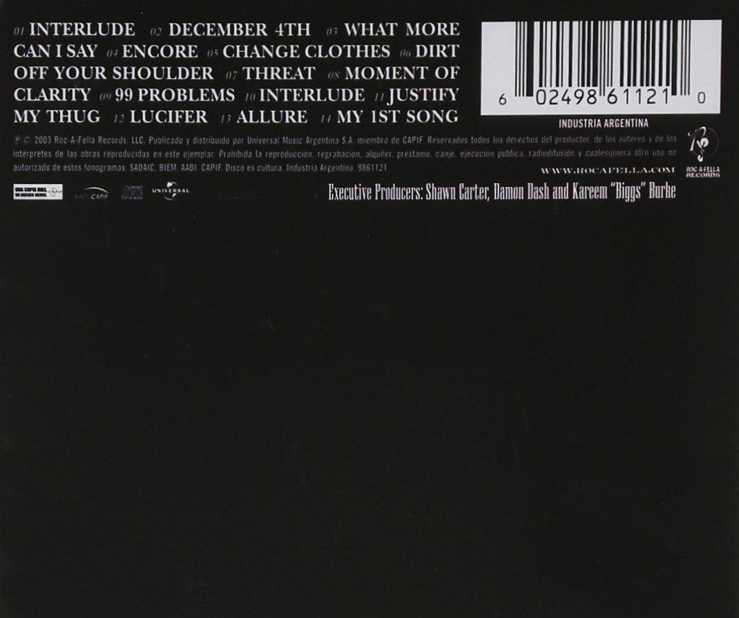 The black album jay z amazon msica malvernweather Image collections