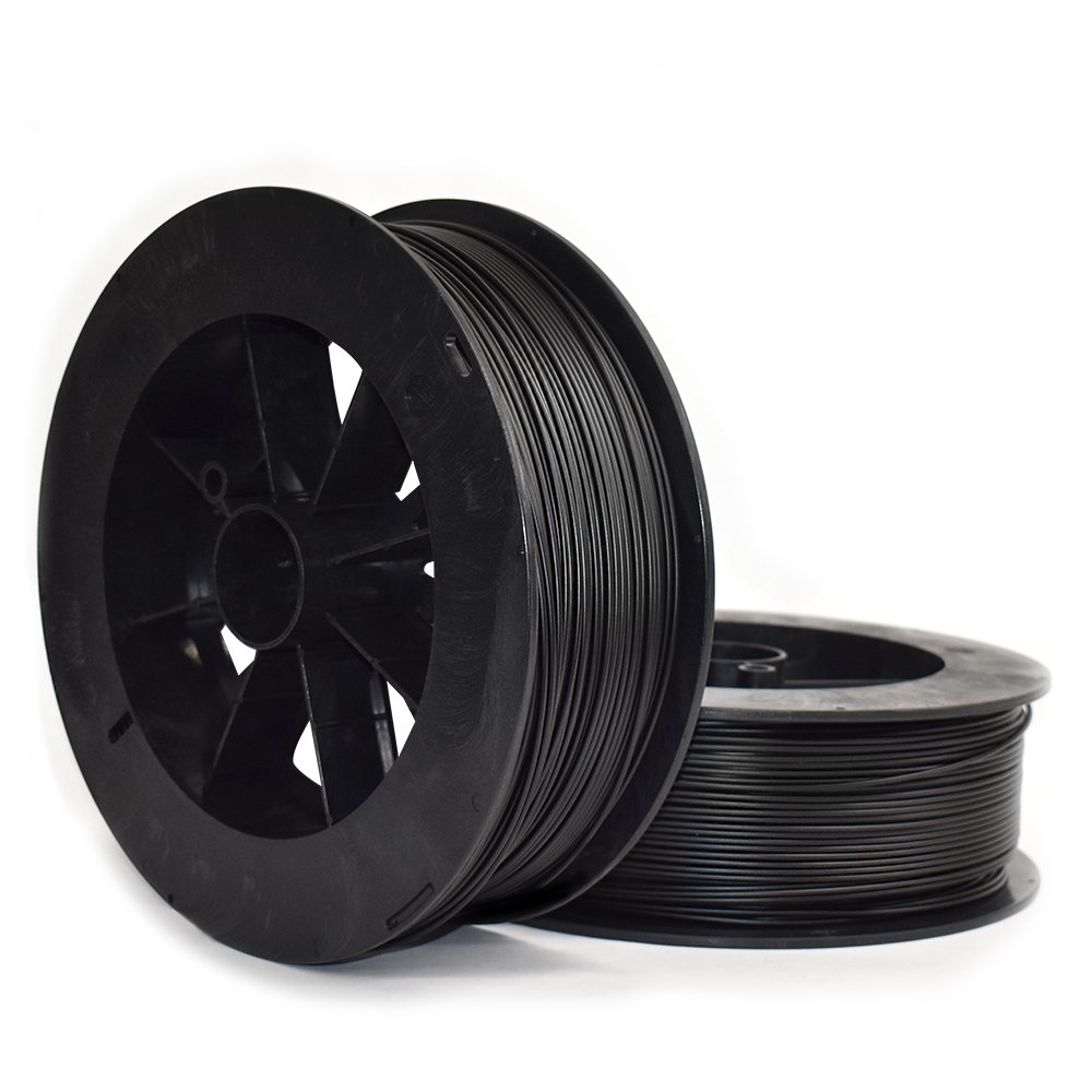 3.00mm NinjaTek 3DNF01129005 NinjaTek NinjaFlex TPU Filament TPE.5kg Black Midnight Pack of 1