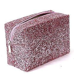 Accessories Makeup Bag In Pink Sequins