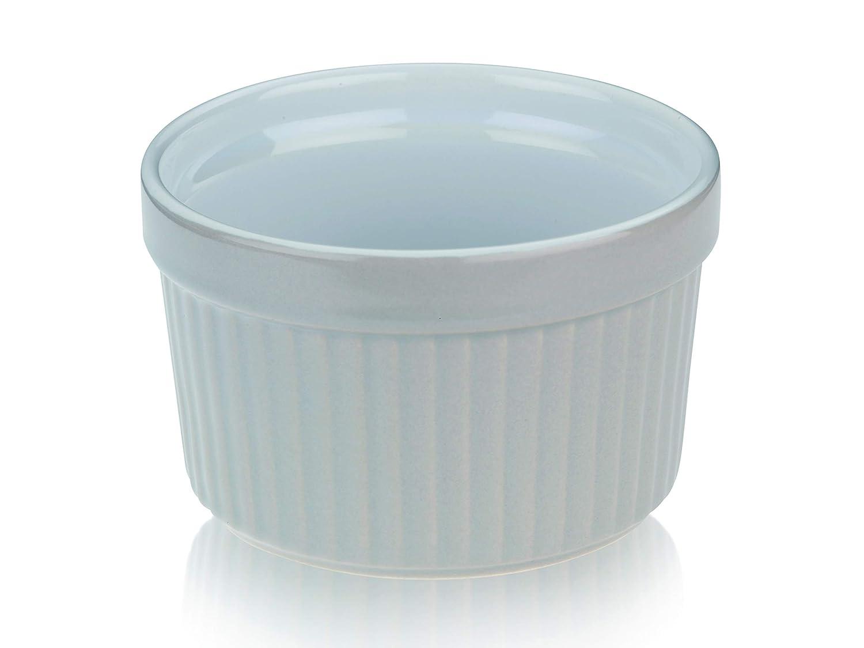 kela Tartelettes-F/örmchen Lissi 200 ml /Ø 9 cm Mini-Aufbackform Auflauf-Form Keramik-Sch/älchen Pastellblau Porzellan-Geschirr K/üchen-Zubeh/ör