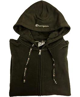 Champion Sweat Regularfit Gris M (Medium)  Amazon.fr  Vêtements et ... 2d0fae519852