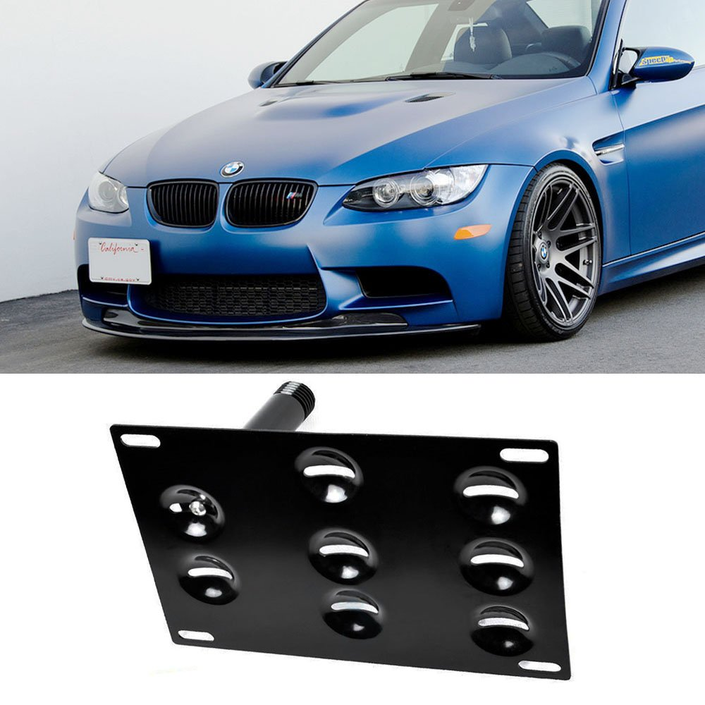 Amazon.com iJDMTOY Euro Style Front Bumper Tow Hole Adapter License Plate Mounting Bracket For BMW E82 E88 128i 135i 1M E39 E90 E91 E92 E93 328i 335i M3 X5 ...  sc 1 st  Amazon.com & Amazon.com: iJDMTOY Euro Style Front Bumper Tow Hole Adapter License ...