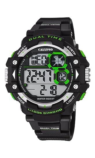 Calypso Watches Reloj Digital para Hombre de Cuarzo con Correa en Caucho K5674_5