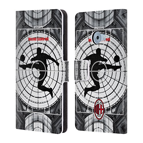 Official AC Milan Milano Siamo Noi 2018/19 Adults Leather Book Wallet Case Cover For Xiaomi Mi Note 2