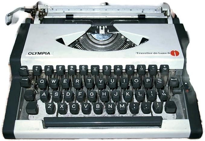 Maquina de escribir OLYMPIA TRAVELLER DELUXE vintage: Amazon.es ...