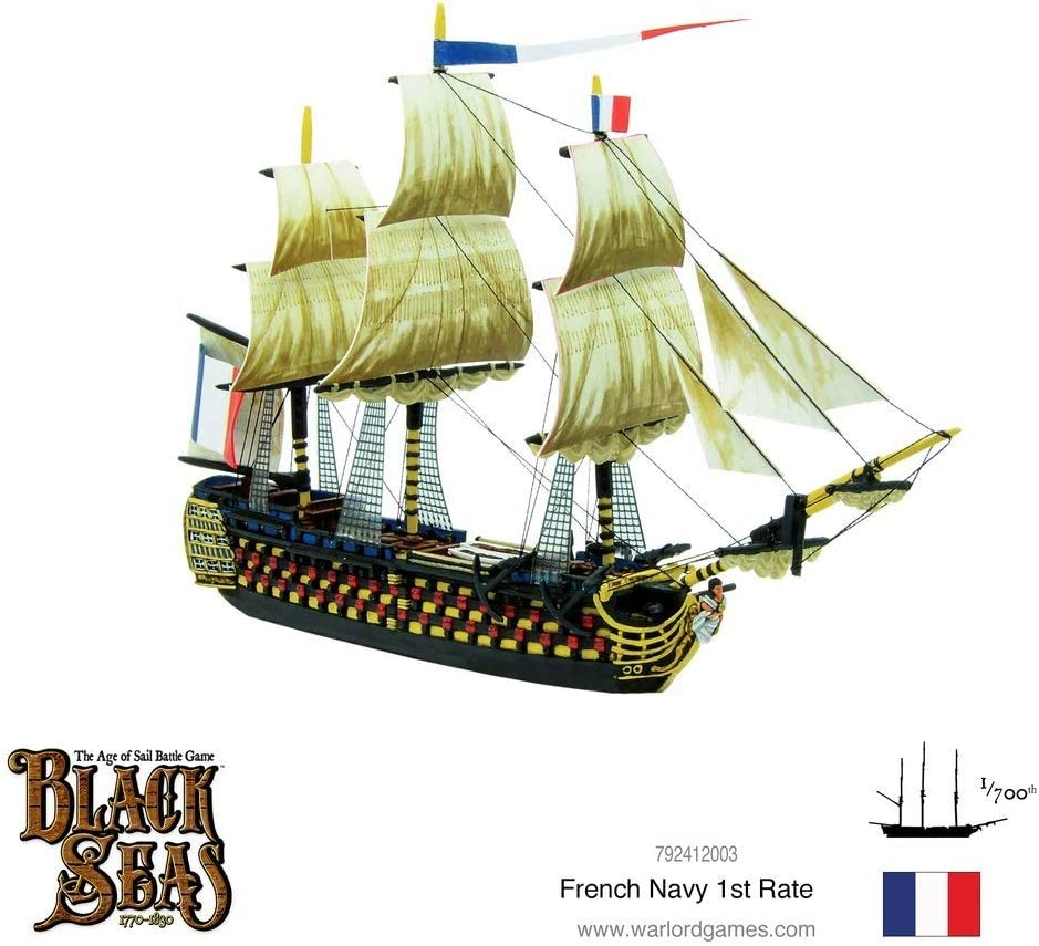 Warlord Games Black Seas: French Navy First Rate