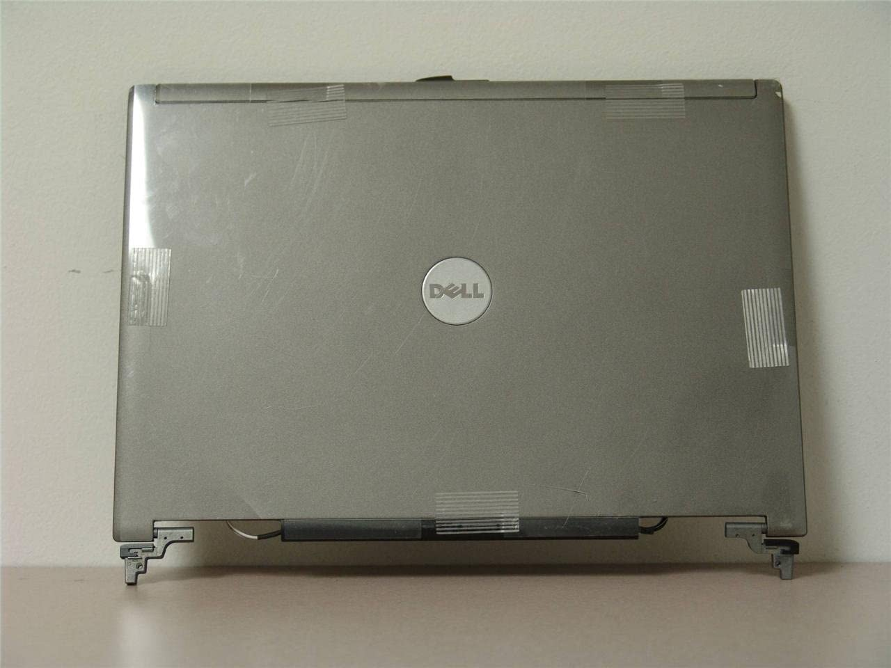 Dell OEM Latitude D620 D630 LCD Back Cover Top Lid Hinges YT450