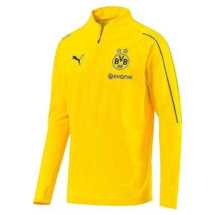 4b5e6f3f038d6 Amazon.com : PUMA 2018-2019 Borussia Dortmund Half Zip Training Top ...