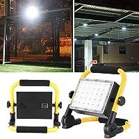 30W / 50W Foco LED Luz de emergencia recargable de mano para acampar al aire libre UK Plug 220V(30W)