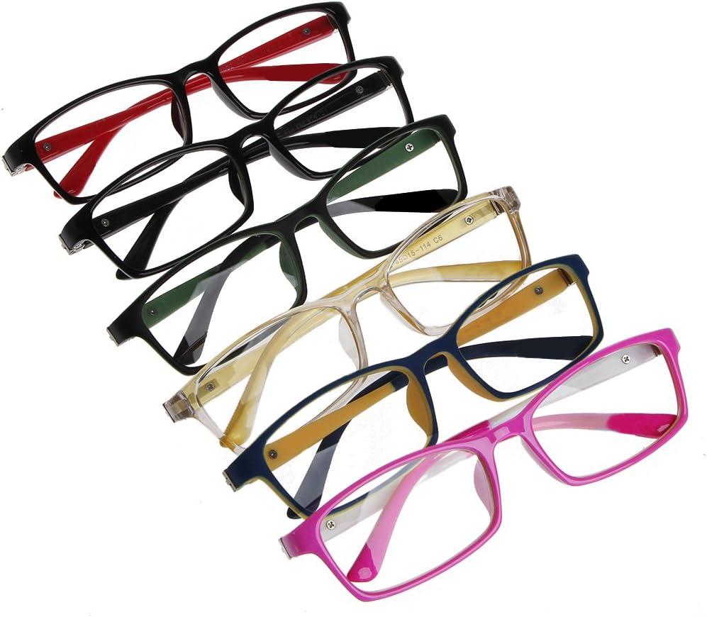 siwetg 1 Piece Children Girls Boys Elastic Lenses Leg Myopia Glasses Frame Optical Glasses C1