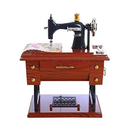 SO-buts - Joyero de Madera con diseño de máquina de Coser, Personalizable,