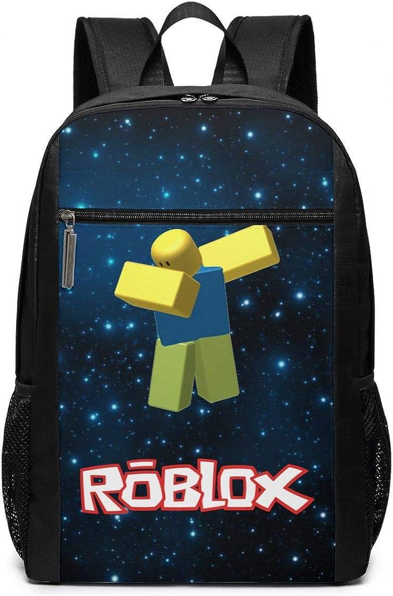 Ro-B-Lox 3D Backpack, Lightweight Multi-Function College School Laptop Book Bag 17 Inch