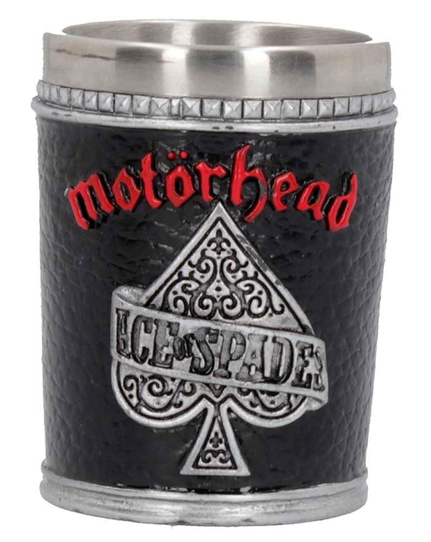Motorhead Shot Glass Warpig Ace of Spades Band Logo New Official Black